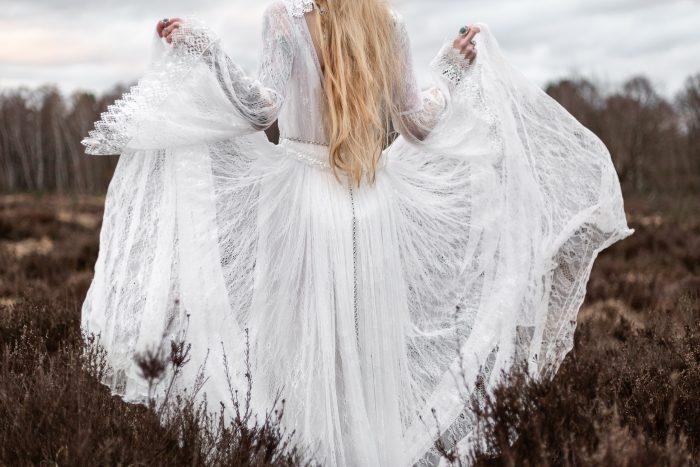 Brautkleid, Hochzeit, Outdoor, Boho, Andrea Schenke Photography, Wittlich, Fotograf