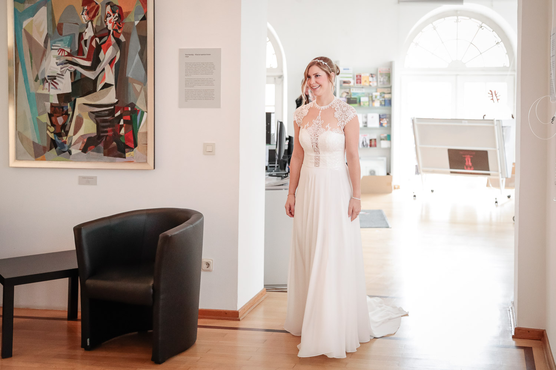 Hochzeit, Braut, First Look, Novemberhochzeit, Hochzeitsfotograf Wittlich, Andrea Schenke Photography