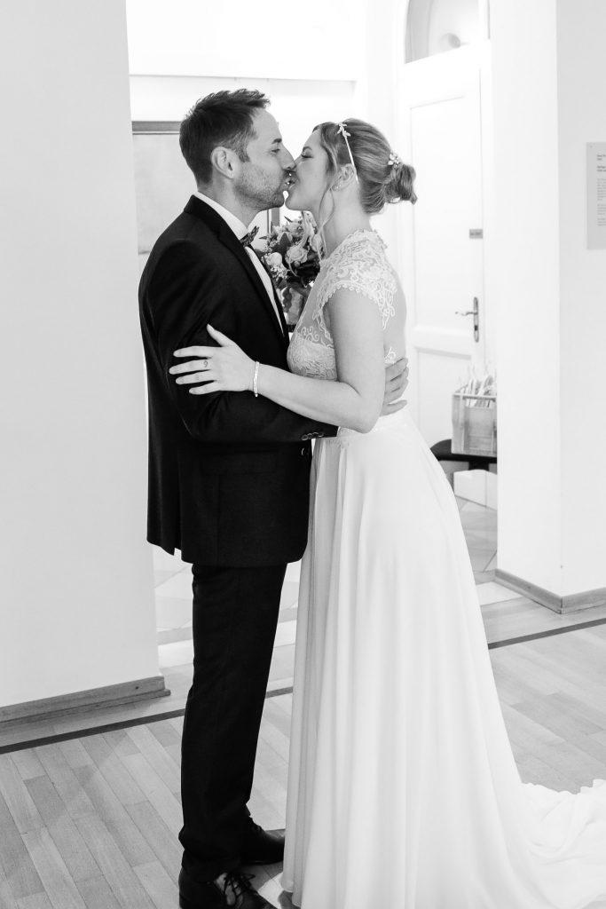 Hochzeit, Brautpaar, First Look, Novemberhochzeit, Hochzeitsfotograf Wittlich, Andrea Schenke Photography