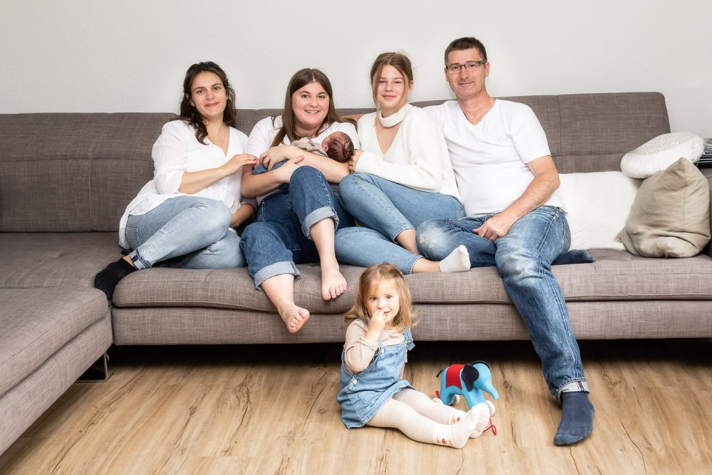Newbornshooting, sleeping Baby, Familie, Andrea Schenke Photography, Fotograf Wittlich