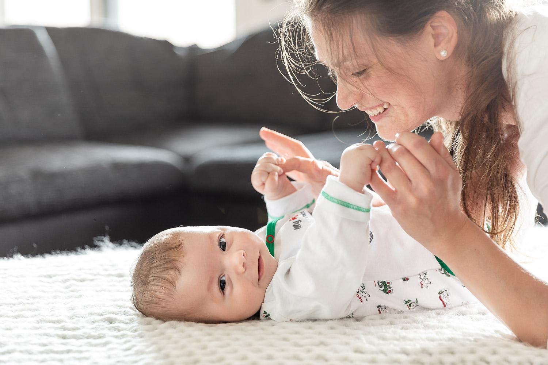 Babyfotografie, Mutter und Sohn, Homestory, Andrea Schenke Photography, Fotograf Wittlich